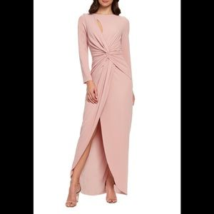 Dress The population Naomi twisted front gown